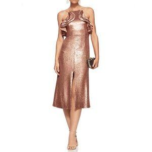 C/MEO Collective Sleeveless Sequin Midi Dress